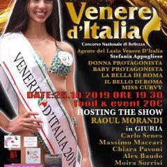 Partita da Roma la stagione 2020 di Venere d'Italia